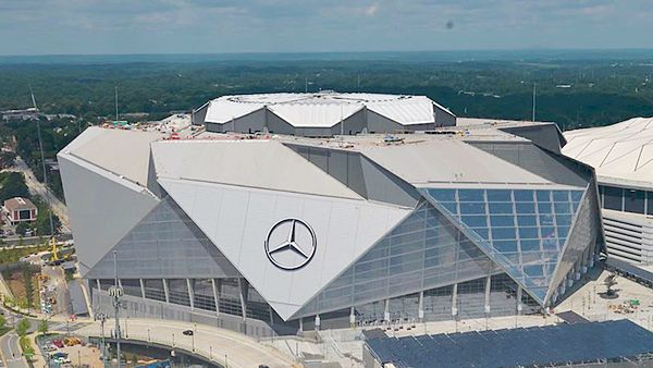 Mercedes-Benz Stadium Lead By LEED Example