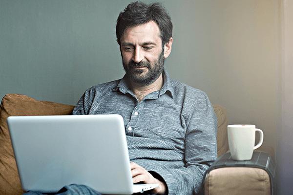 architect on laptop