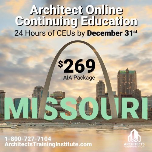 Missouri Architect License Renewal FAQ – 2020 Update
