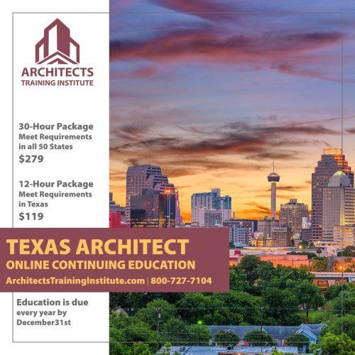 Texas Architect Renewal FAQ