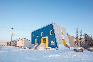 Polar Bears International House | Blouin Orzes architectes with Verne Reimer architecture