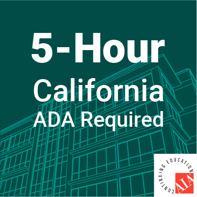5-hour required california ada