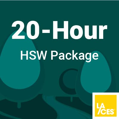 20 Hour HSW Package for Landscape Architects