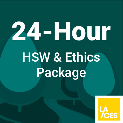 24 Hour HSW & Ethics Course for Landscape Architects