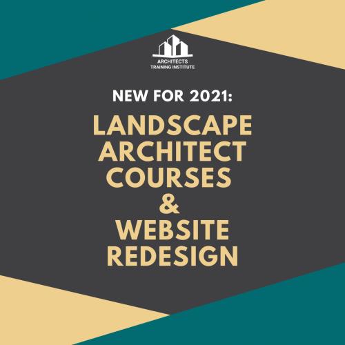 Announcement: New Landscape Architect Courses Now Available!