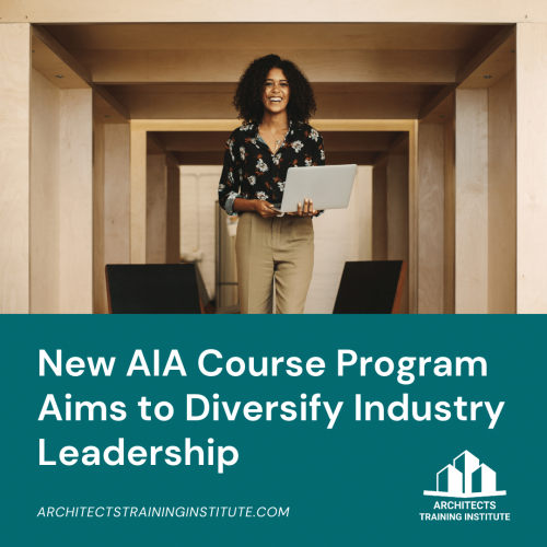 New AIA Course Program Aims to Diversify Industry Leadership
